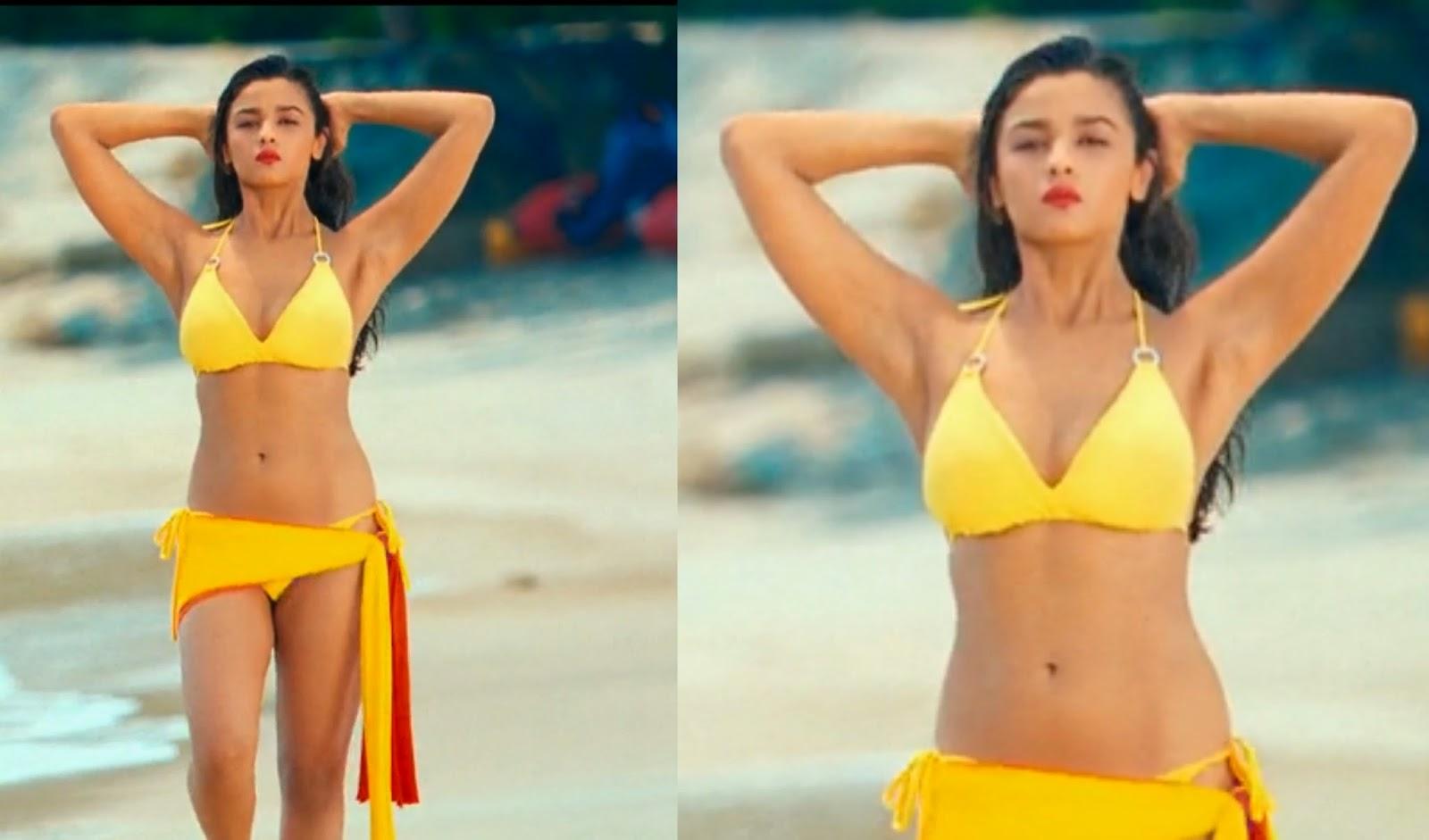 Hot bikini photoshoot of bollywood actress