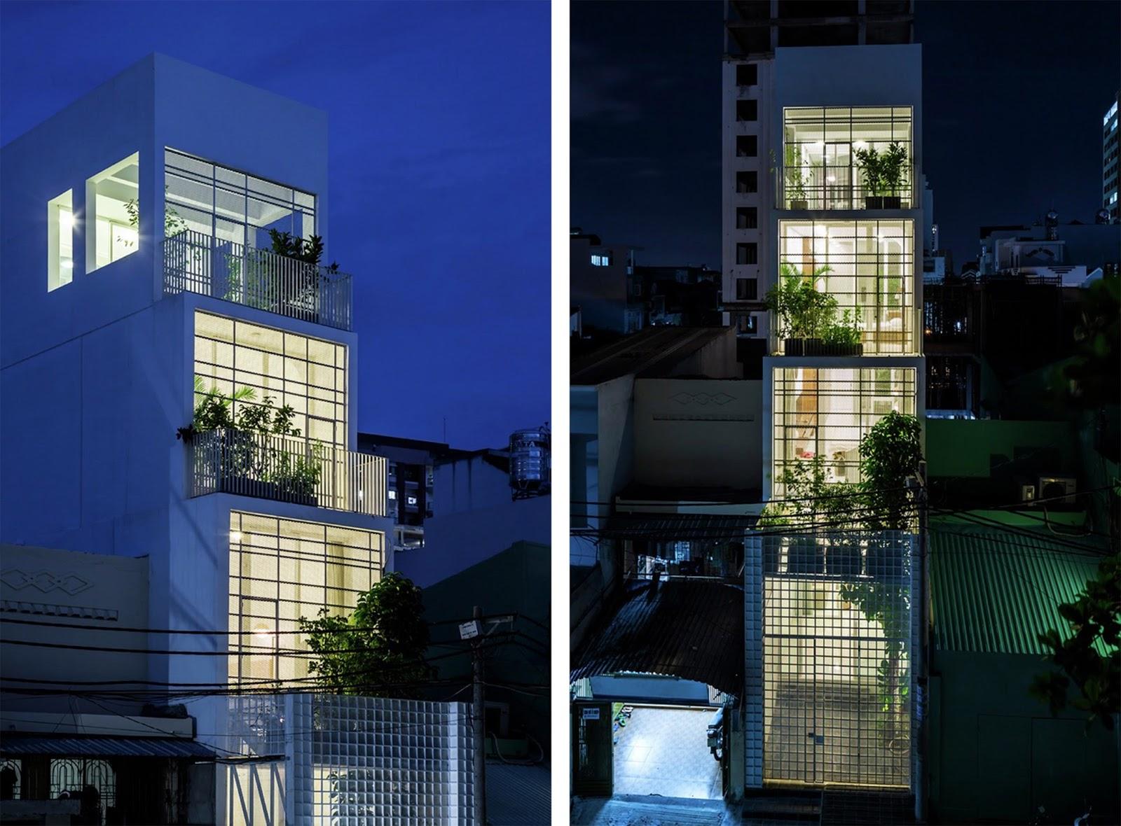 casa verticale tra luce e natura in vietnam by kientruc o