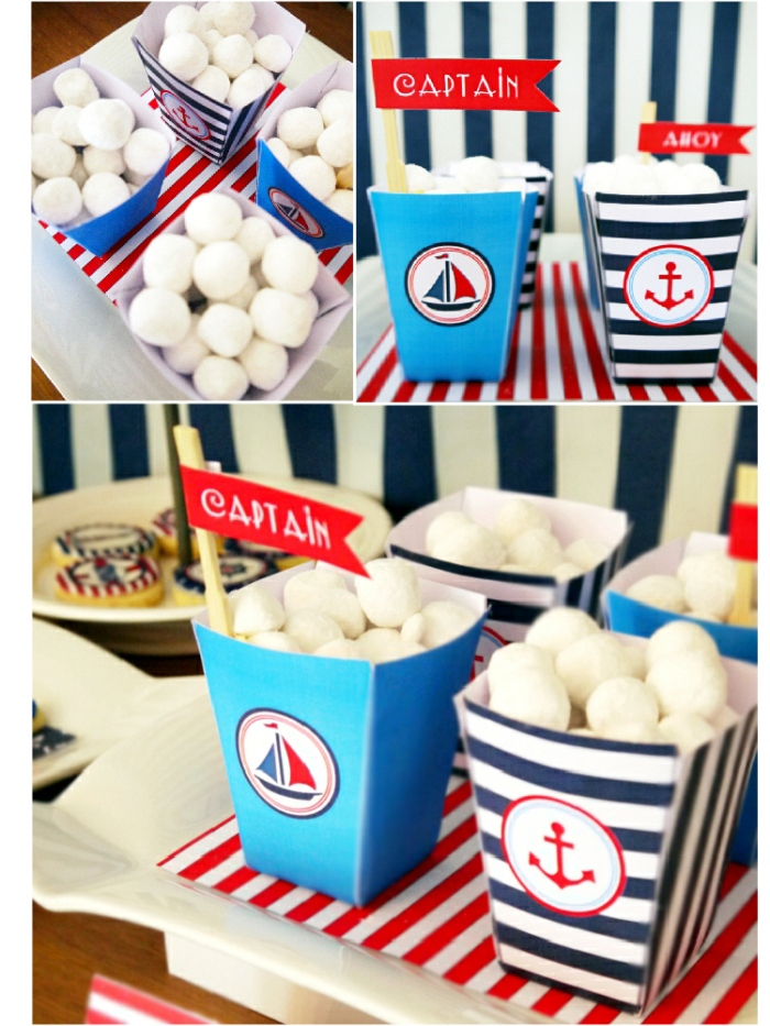 Pintrest bridal celebration nautical party favors party for Anchor decoration party