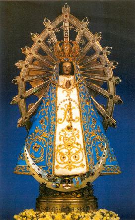 VIRGEN DE LUJÁN PATRONA DE ARGENTINA. Fiesta 08 de Mayo.