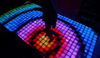Kinetic Floor Use Energy of Dancers
