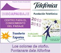 Organiza: Centro para el Conocimiento del Paisaje. Finanza: Fundacón Telefónica