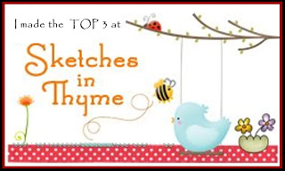Top 3 at Sketches in Thyme