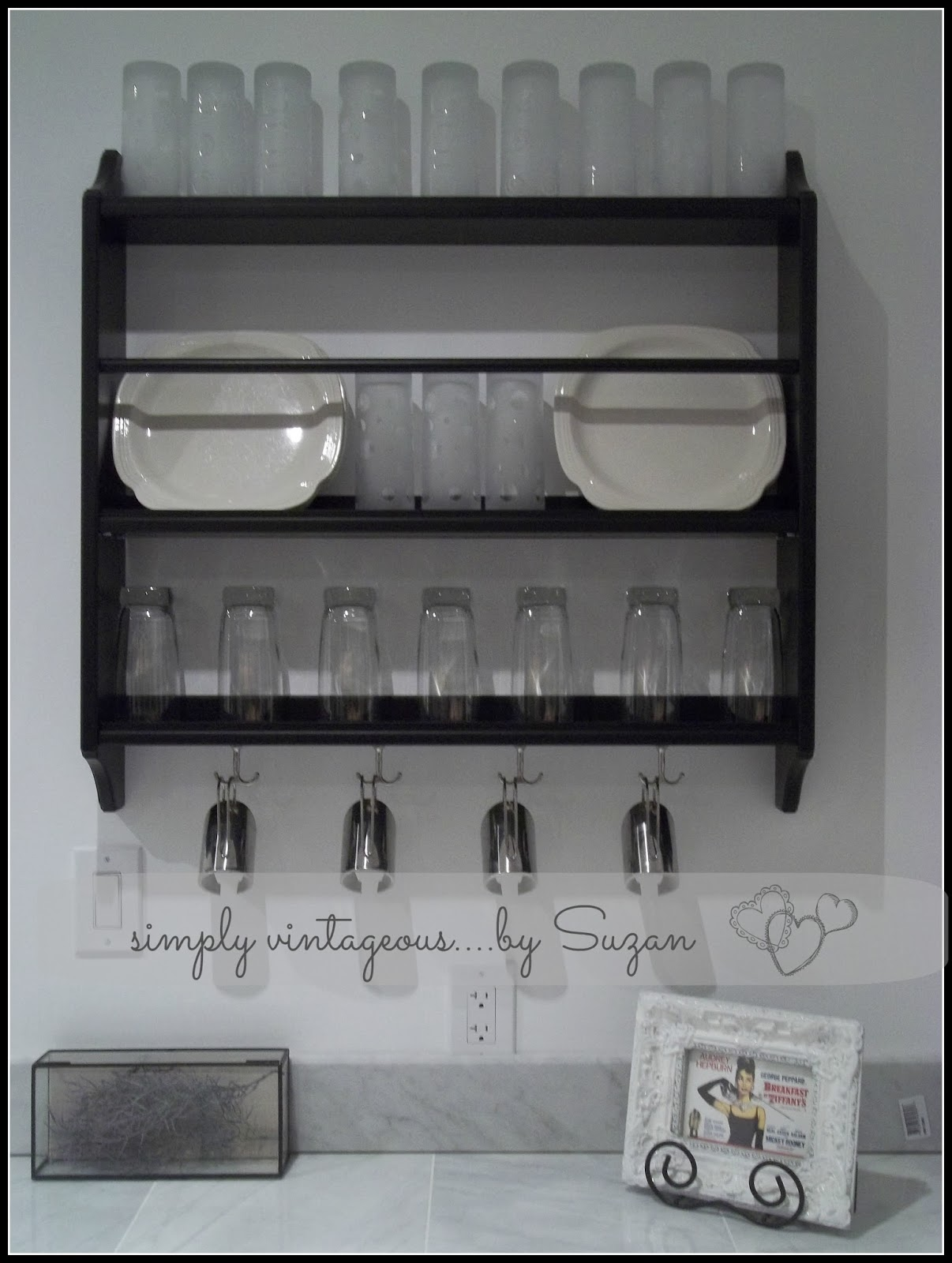 open shelving, kitchen,