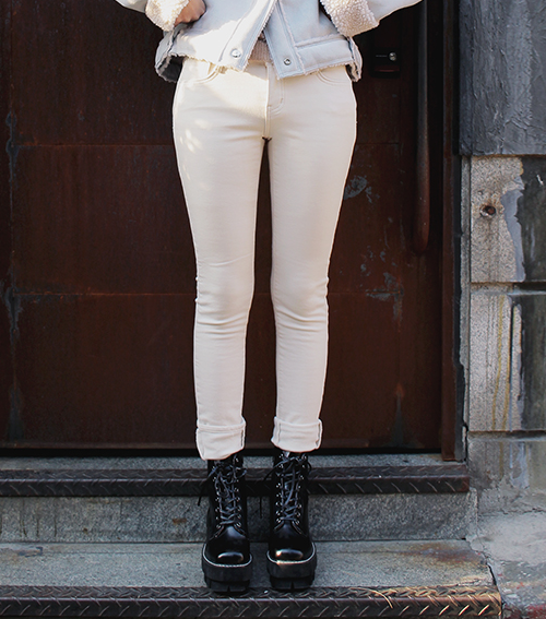Cotton Skinny Pants