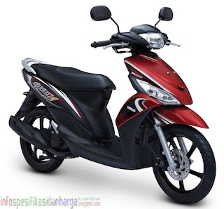 Harga Yamaha Mio J Sporty Motor Terbaru 2012