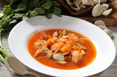 Sopa de Mariscos Nutritiva