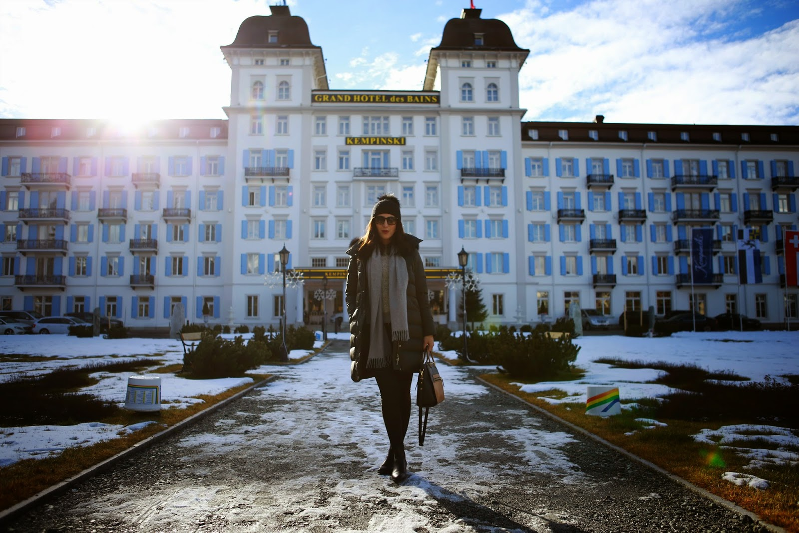 Kempinski grand hotel des bains an unforgettable winter for Grand hotel des bain