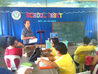 Ms. Tionsay evaluates previous session
