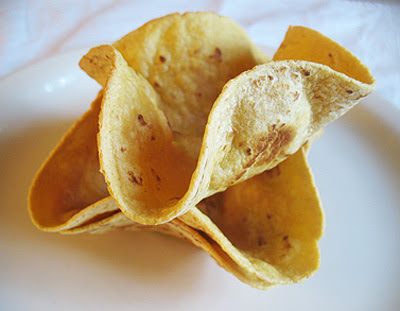 homemade taco shells
