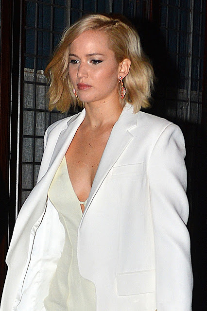 Actress, @ Jennifer Lawrence - Leaving Greenwich hotel, NYC