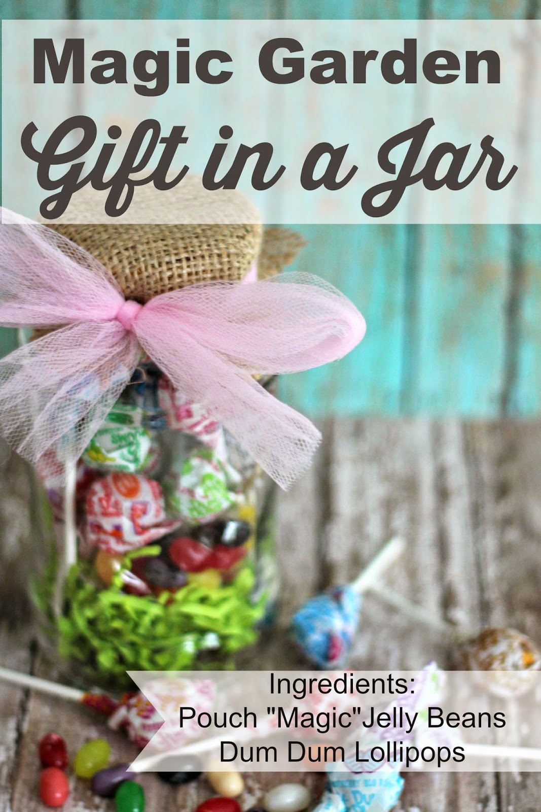 Easter Gift in a Jar