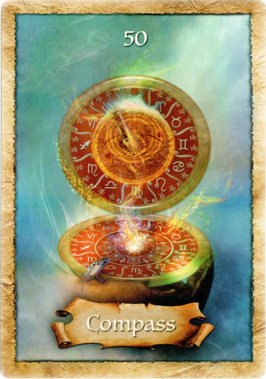 The Enchanted Map Oracle by Colette Baron Reid Compass