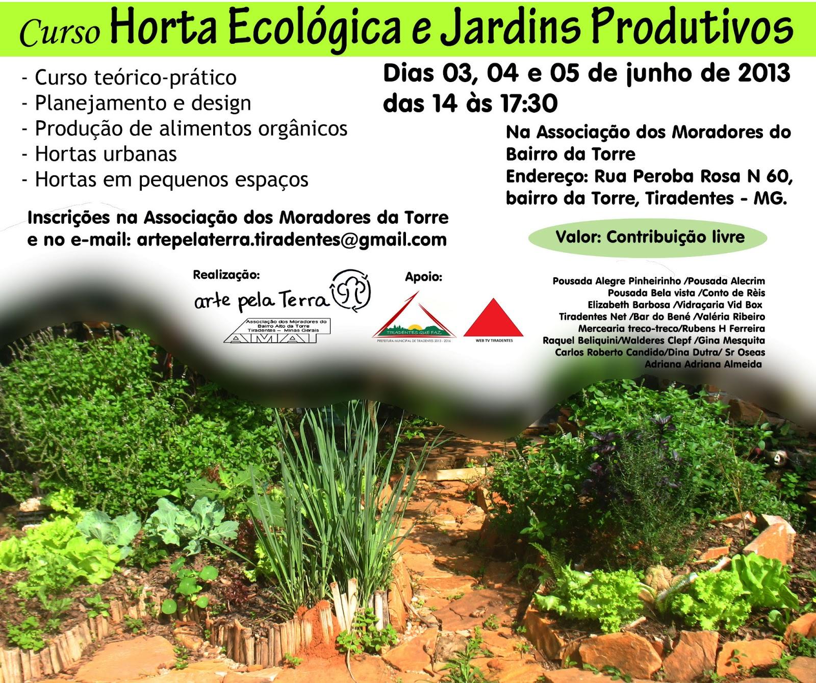 horta e jardim juntos:Patricia Martins: Curso Horta Ecológica e Jardins Produtivos