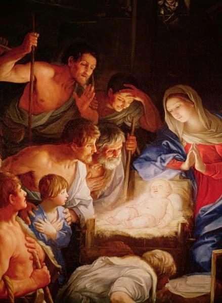 Adorazione dei pastori, (Guido Reni).