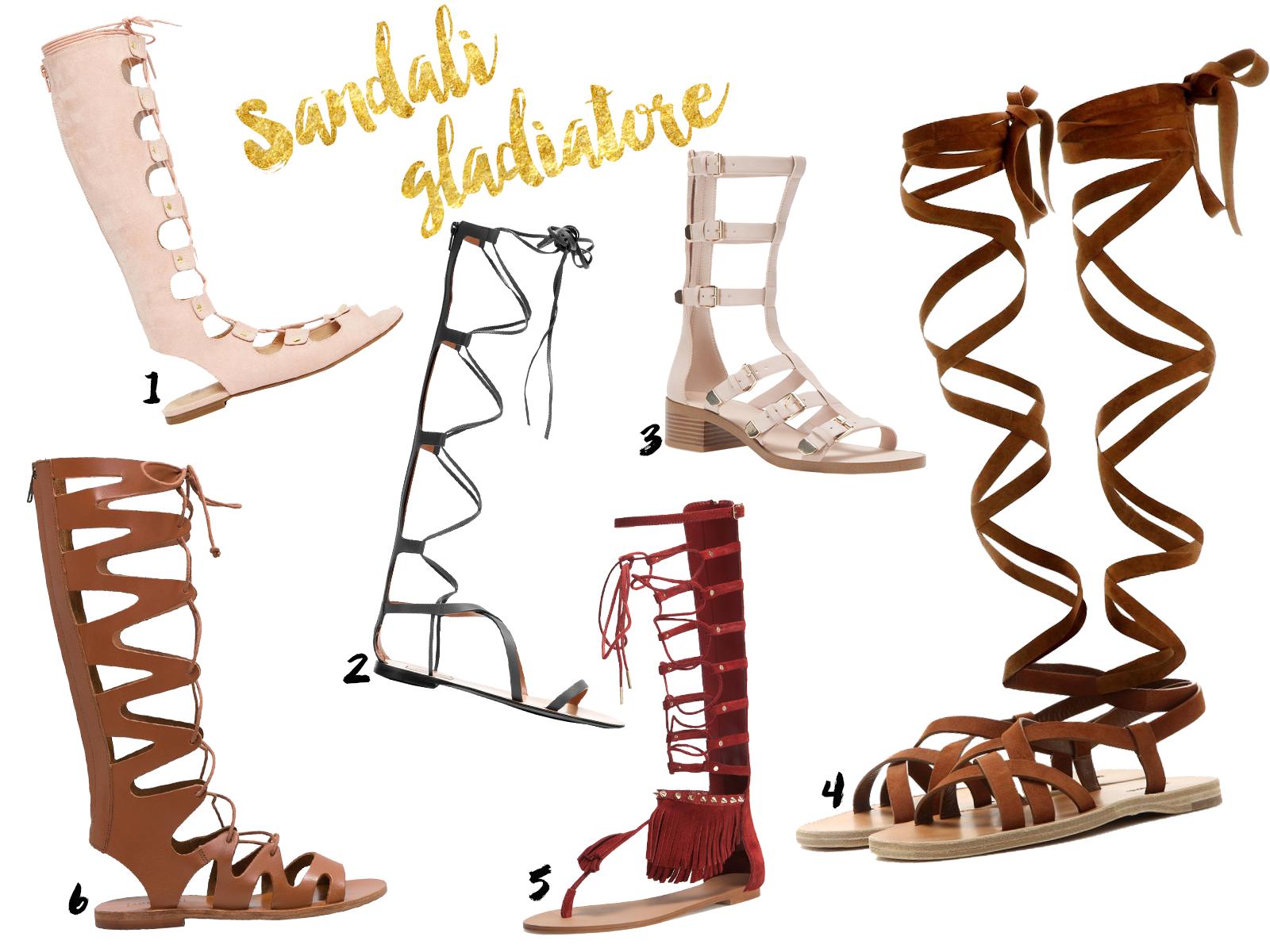 sandali gladiatore