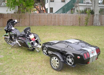 Creative Car Trailers and Cool Motorbike Trailers (15) 9