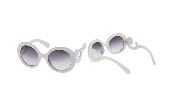 "Animal Baroque Sunglass by Prada, Fashion, Prada, Romwe, Round Shaped Sunglass, Social Spark, sunglass, Geek and weird  Sunglasses But at the same time so stylish! For extra bucks earnings on your blog you may want to join us in Social Spark and sign up as a publisher."" border="