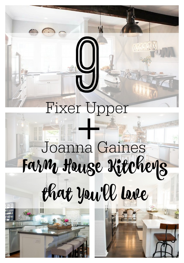 9 Fixer Upper + Joanna Gaines Farm House Kitchens that You'll ... on romantic lodge, romantic shabby chic, romantic chic new year, romantic firelight, romantic office, romantic chic decor,