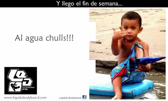 LLEGO EL FIN: AL AGUA!!!