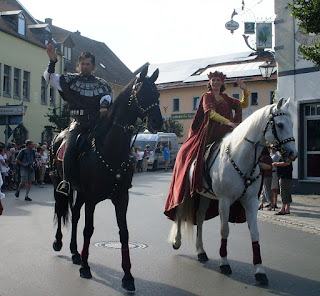 Foto: Das Ritterpaar