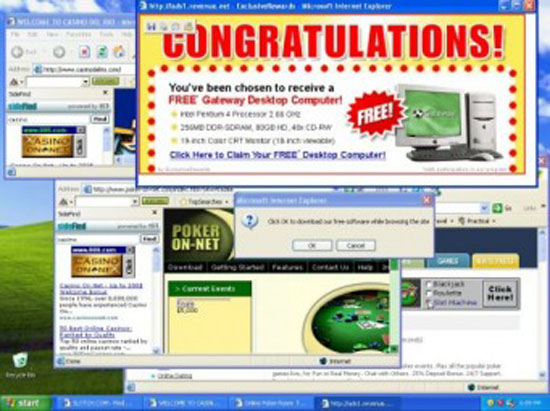 Cara Pasang Pop Up Iklan Windows