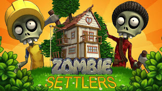 Screenshots of the Zombie settlers for Android tablet, phone.