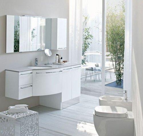 Ideas Para Decorar Baño Blanco:Ideas para decorar baños pequeños – Colores en Casa