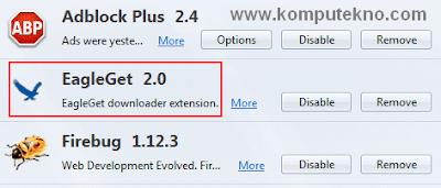 Mempercepat download dengan EagleGet Downloader - 2