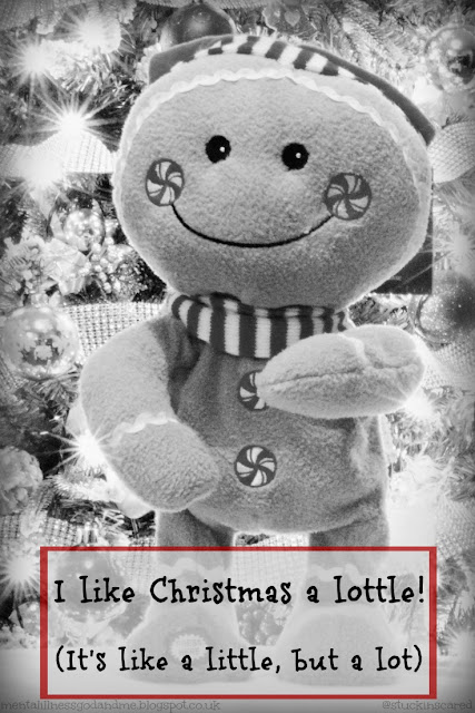 """I like Christmas a Lottle.. it's like a little, but a lot."" via @stuckinscared"
