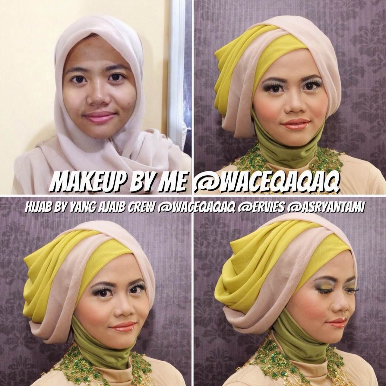Hijab Beauty Gaya Hijab Terbaru 2014 Ala Vindy Terasiring Layer
