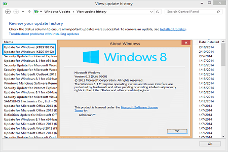 What is a Windows 8.1 Update 1?