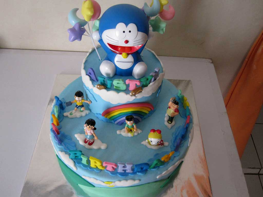 Birthday Cake Images With Cartoon Character : Birthday Cake Cartoon Wallpaper - Cartoon Images