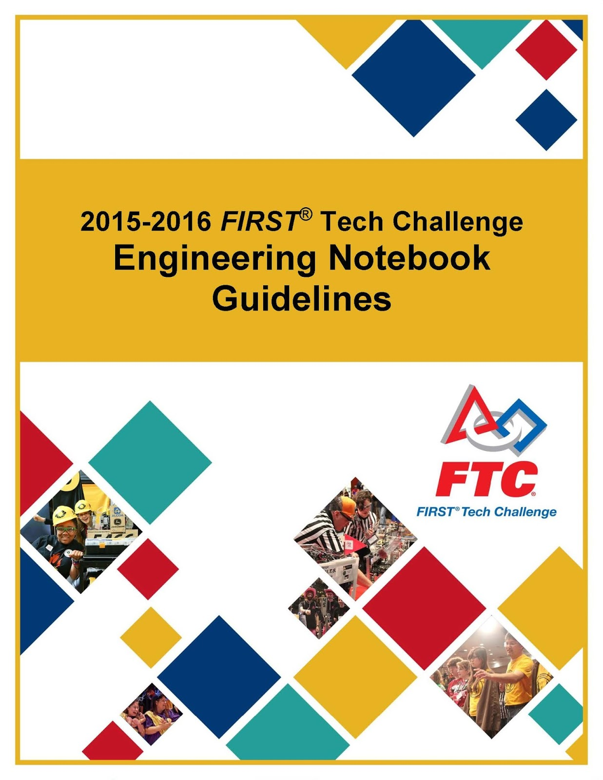 Engineering Notebook New Resources First Tech Challenge