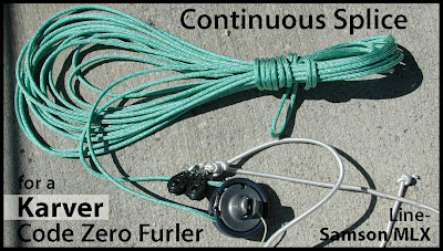 Annapolis Performance Sailing APS Karver Code Zero Furler Continuous Splice Samson MLX