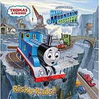 Thomas the tank engine Risky Rails 24 page paperback to delight young children ages 3 to 7 years