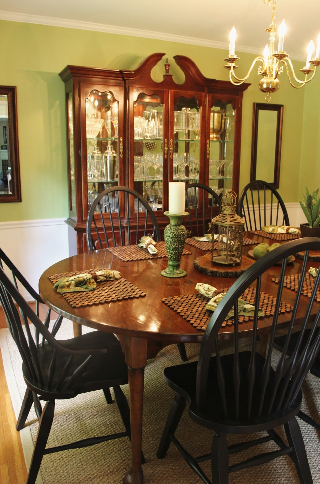 Lovely My Dining Room Table Part - 1: Dining Room Tour