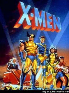 Capa do desenho Antigo dos X-Men