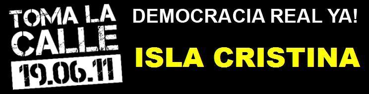 Democracia Real Ya Isla Cristina