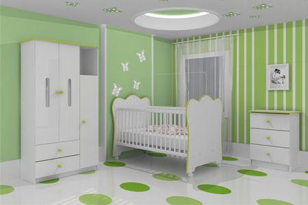 quarto de bebe simples seguindo tons de azul quarto de bebe feminino