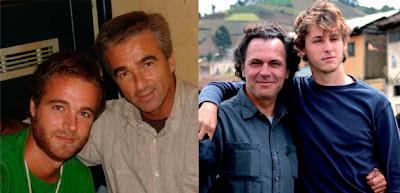 Carles Francino padre e hijo y José y Nicolás Coronado