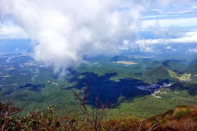 Mt. Daisen hiking trail