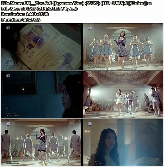 Download PV IU - You & I (Japanese Version) (SSTV Full HD 1080i)