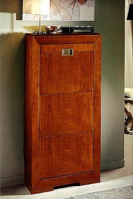 Muebles pr cticos por la decoradora experta zapateros para el pasillo - Muebles zapateros estrechos ...