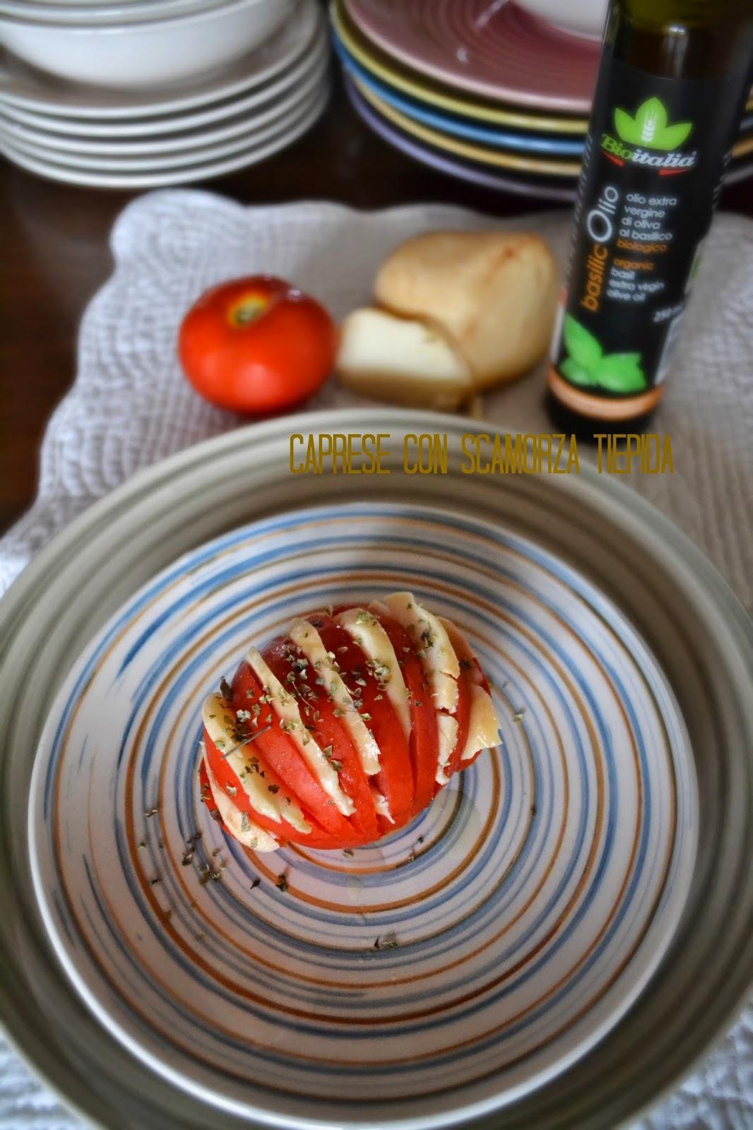 caprese pomodoro e scamorza