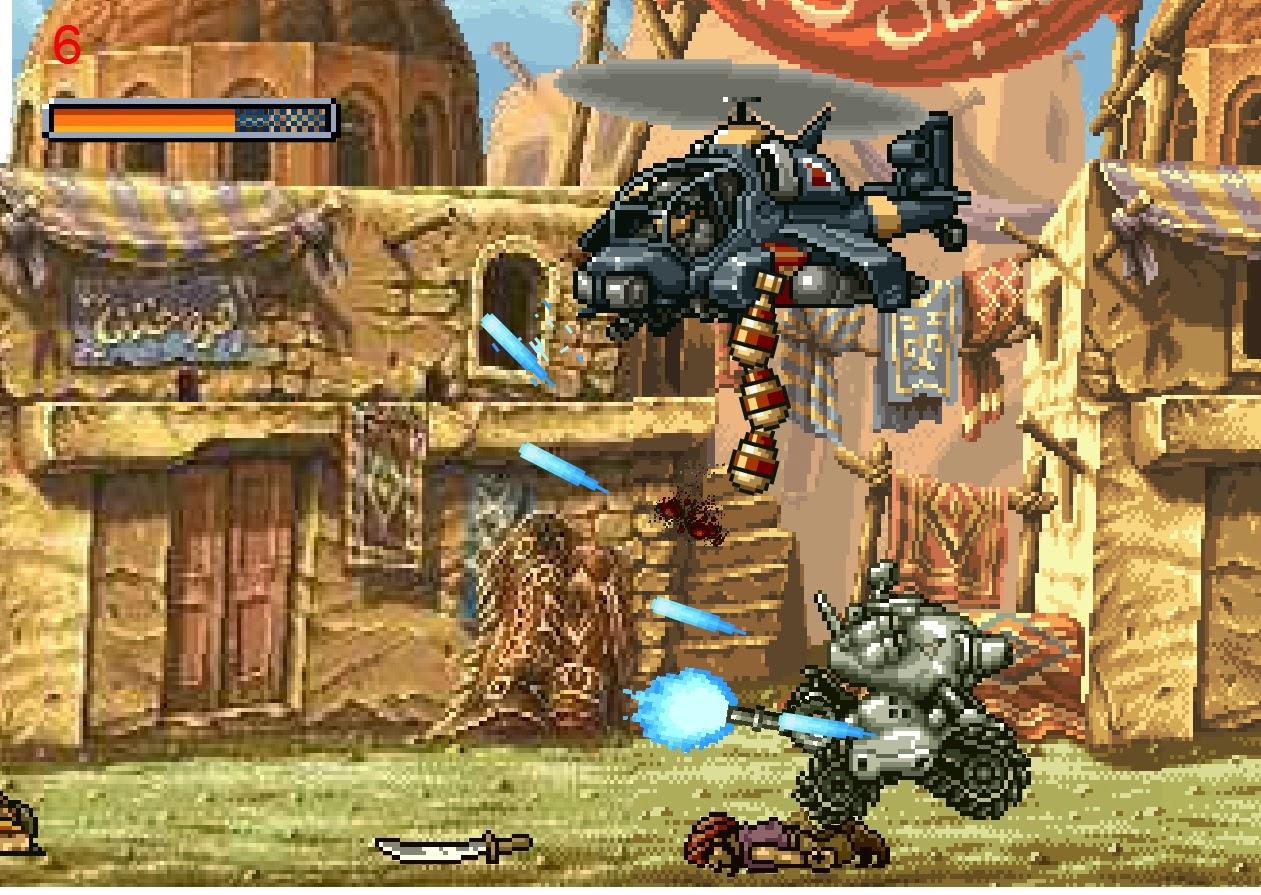 silahlı tanklı tüfekli savaş oyunları metal slug oyunu