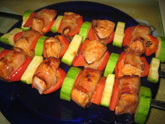 Рецепт шашлыка из семги с фото