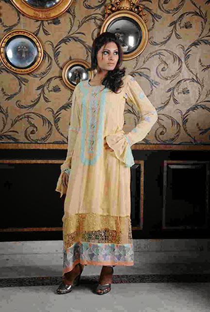 Attraction By Kamal Party Wear Dresses 2013-2014 For Women And Girls Fashion