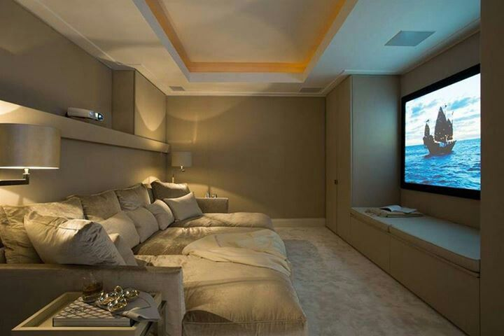 16 Simple Elegant And Affordable Home Cinema Room Ideas Architecture Arc