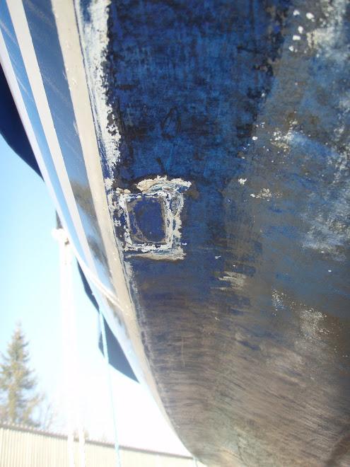 2012-03-01 Skrapat botten och fotat tierodplåt